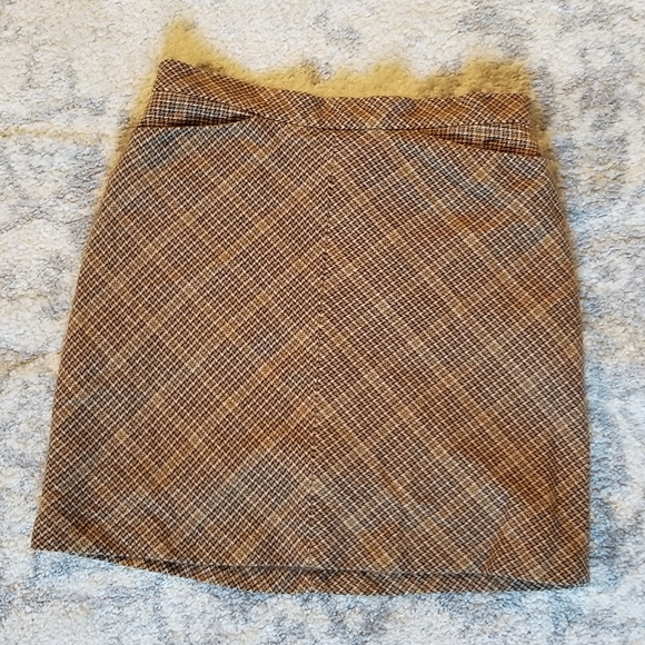 GAP GREAT CONDITION WOOL BLEND VINTAGE STYLE SKIRT